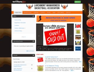 larchmontbasketball.siplay.com screenshot