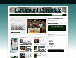 larchmontchronicle.com screenshot
