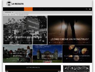 larecoleta.digital screenshot