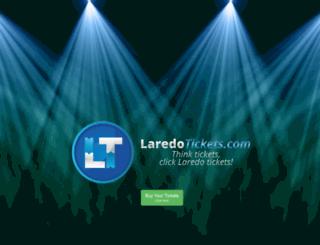 laredotickets.com screenshot