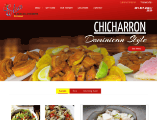 lareinadelchicharron.com screenshot
