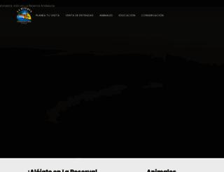 lareservadelcastillodelasguardas.com screenshot