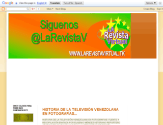 larevistavirtualtv.blogspot.com screenshot