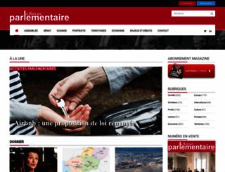 larevueparlementaire.fr screenshot