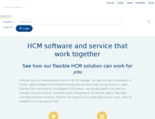 largebusiness.paychex.com screenshot