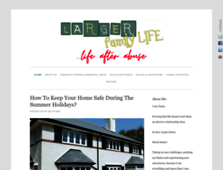 largerfamilylife.com screenshot