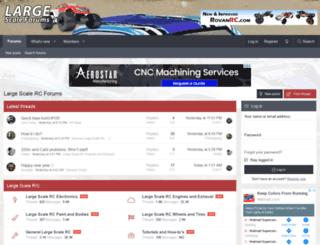 largescaleforums.com screenshot