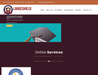 largeshield.co.in screenshot