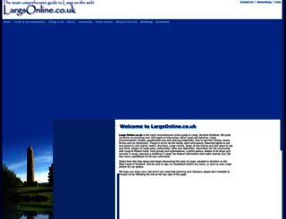 largsonline.co.uk screenshot