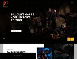 larian.com screenshot