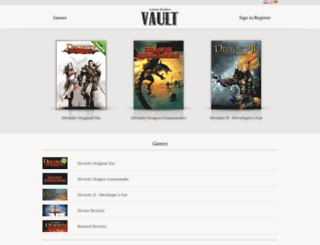 larianvault.com screenshot