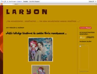 larion-larion.blogspot.com screenshot