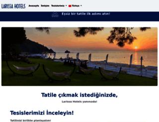 larissahotels.com screenshot