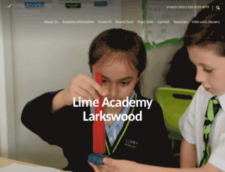 larkswoodprimary.co.uk screenshot