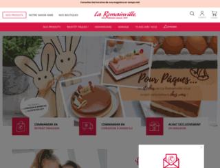 laromainville.fr screenshot
