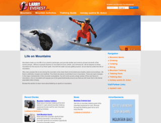 larryeverest.com screenshot