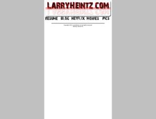 larryheintz.com screenshot