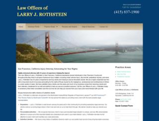 larryjrothstein.com screenshot