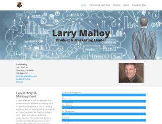 larrymalloy.com screenshot