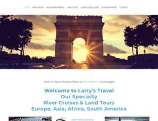 larrystravel.com screenshot