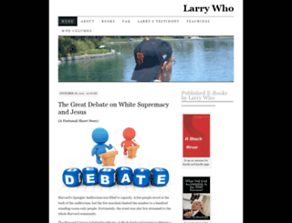 larrywho.wordpress.com screenshot