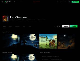 lars-rasmussen.deviantart.com screenshot