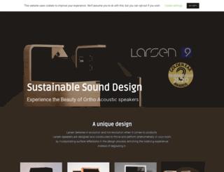 larsenhifi.com screenshot