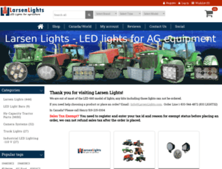 larsenlights.com screenshot