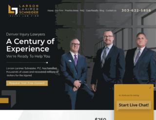 larsonandlarimer.com screenshot