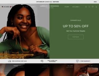 larssonandjennings.com screenshot
