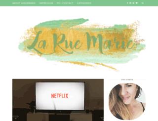 laruemarie.com screenshot