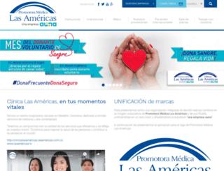 lasamericas.com.co screenshot