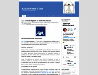 lasantedanslacite.wordpress.com screenshot
