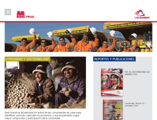 lasbambas.com.pe screenshot