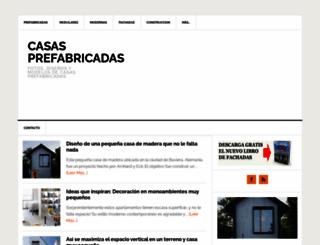 lascasasprefabricadas.com screenshot