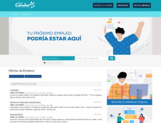 lascondes.omil.cl screenshot