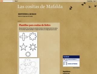 lascositasdemafalda.blogspot.com screenshot