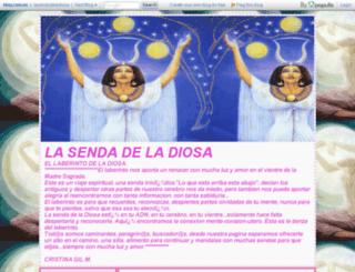 lasendadeladiosa.blog.com.es screenshot