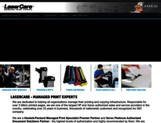 lasercare.com screenshot