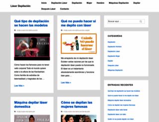 laserdepilacion.net screenshot