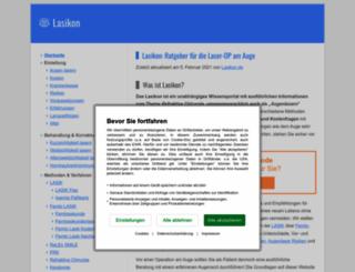 lasermyeye.org screenshot
