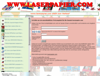 laserpapier.com screenshot
