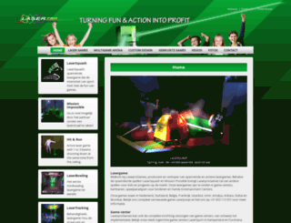 laserpro.nl screenshot