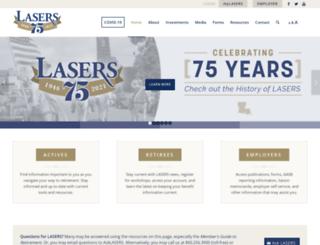 lasers.state.la.us screenshot