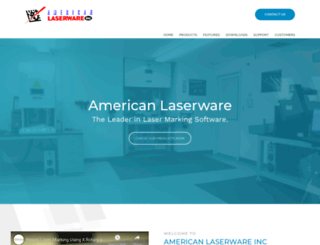 laserware.com screenshot