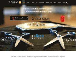lashear.com screenshot