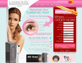 lashovee.com screenshot