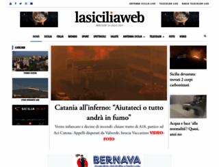 lasiciliaweb.it screenshot
