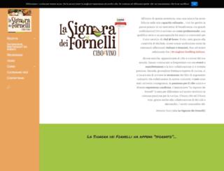 lasignoradeifornelli.it screenshot
