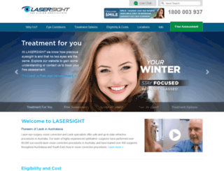 lasik.com.au screenshot